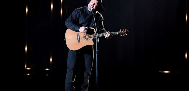 Garth Brooks says 'no more surprises' after performing new song for wife at CMAs
