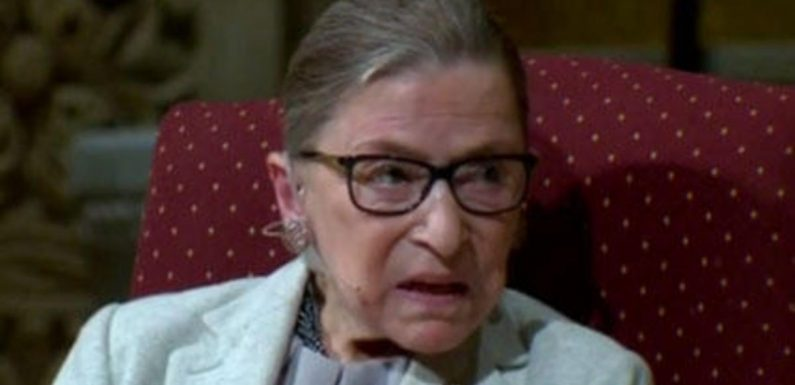 """Ruth Bader Ginsburg back working and """"cracking jokes"""" after breaking ribs, nephew says"""