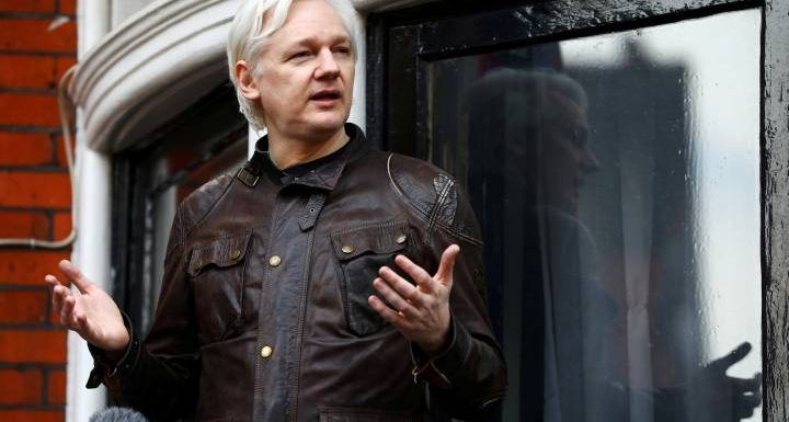 Julian Assange is the subject of a U.S. indictment, says a document filed in error: prosecutors