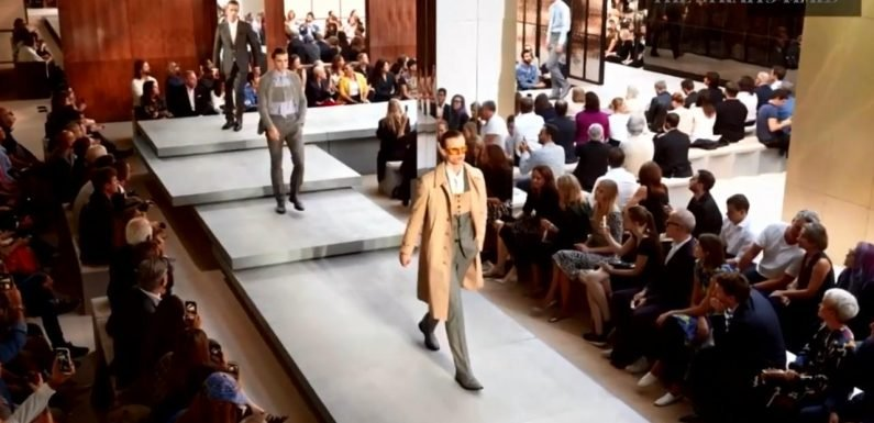 Burberry says new designer is delivering the buzz
