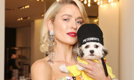 Dressed to the canines: doggy couture is having a moment and for once, you can't blame it on Instagram