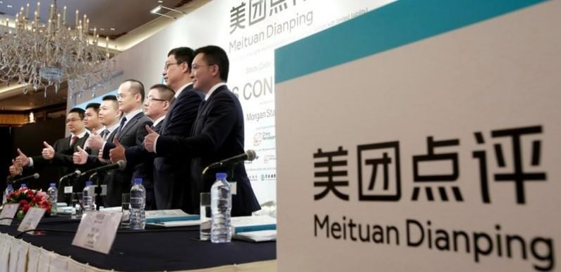 China's Meituan Dianping shares dive as rising costs inflate losses