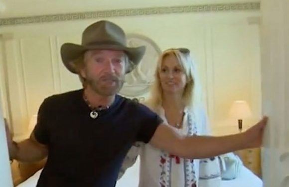 Saucy Noel Edmonds got down to 'sexy time' straight after leaving I'm A Celeb
