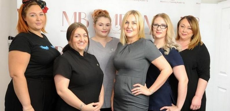 Single mum who left school with no GCSEs now runs six-figure business