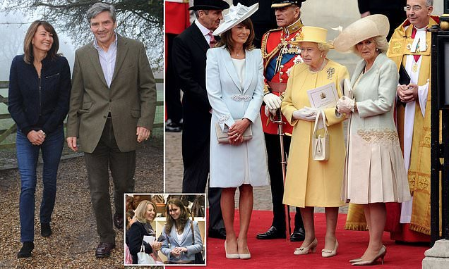 Carole Middleton has stopped reading stories about herself online