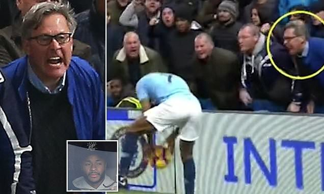 Chelsea fan who 'abused Sterling' says he called him a MANC c***