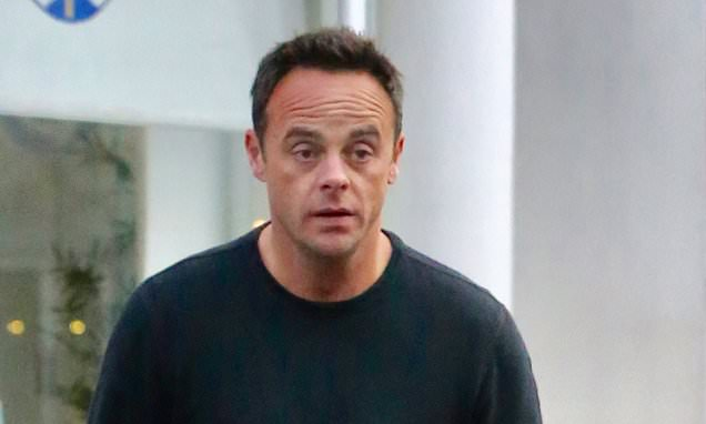 Ant rushed back to TV after his £50,000 rehab