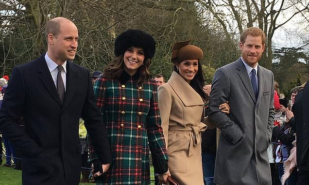 William and Kate WILL spend Christmas Day with Harry and Meghan