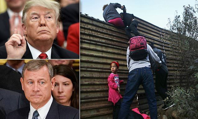 Supreme Court rules 5-4 against Trump asylum policy