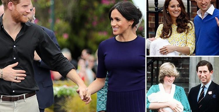 Meghan Markle could give birth at HOME as it's revealed she's 'reading up' on hypnobirthing