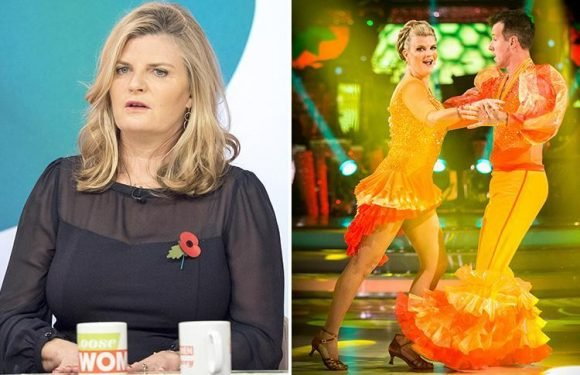 Strictly's Susannah Constantine reveals painful injury could mean she's forced to drop out of final show group dance