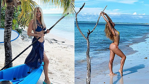 Christie Brinkley, 64, Looks The Same Age As Daughter Sailor Brinkley Cook, 20, As They Pose In Sexy Swimsuits