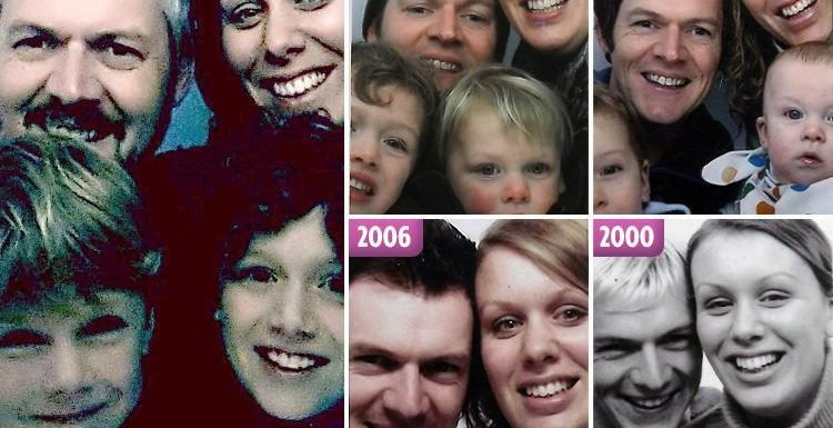 Couple share the sweet photo booth pictures they've taken every year for the past 18 years