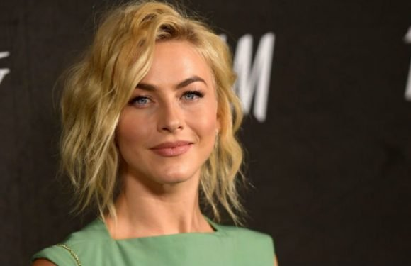 Julianne Hough Flaunts Her Stems In Knee Boots And Short Dress