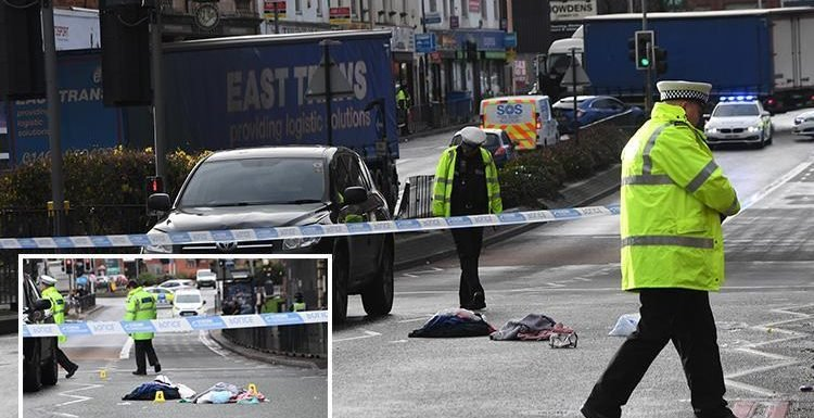 Woman pushing five-month-old baby in pram hit by car while crossing road in Birmingham
