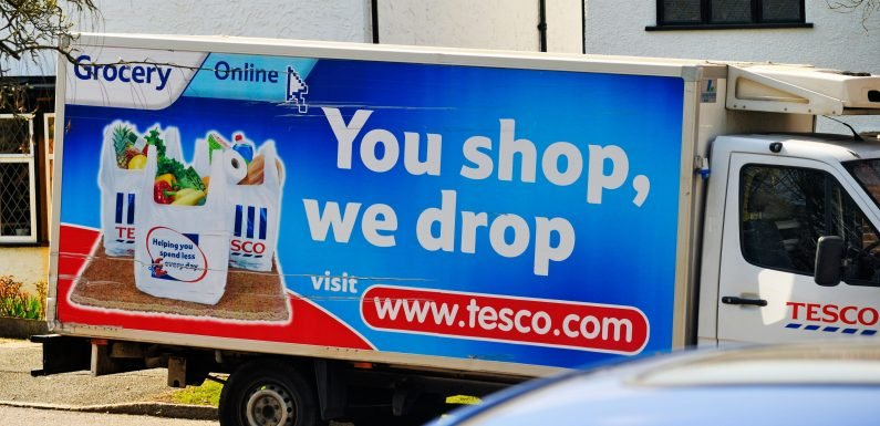 Tesco shoppers furious after Christmas delivery slots sell out within minutes