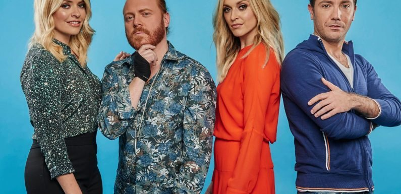 When is the Celebrity Juice Christmas special on ITV2, who's in the line-up with Keith Lemon and Holly Willoughby and how does it work?