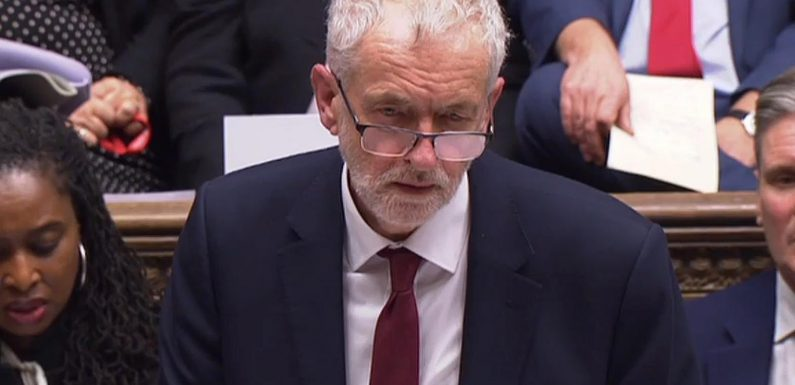 Jeremy Corbyn backs out of pledge to bring down Theresa May's Government and get keys to No10 if PM loses Brexit deal vote
