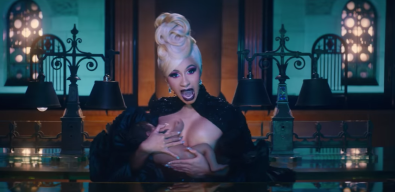 """Cardi B's Brilliant New """"Money"""" Video Features Her Breastfeeding Kulture"""