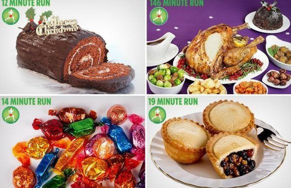 Would you avoid festive puds if you knew how much it took to work off?