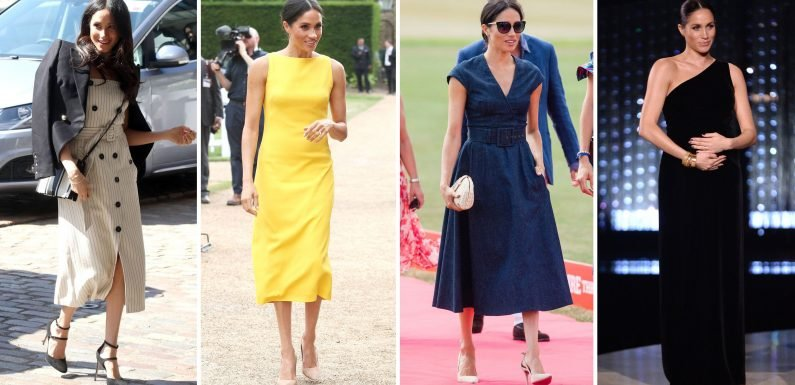 See Meghan Markle's Most Stunning Looks This Year