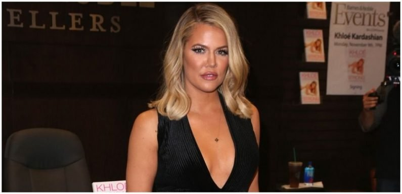 Khloe Kardashian Scarfs Oreos In Latest Photo