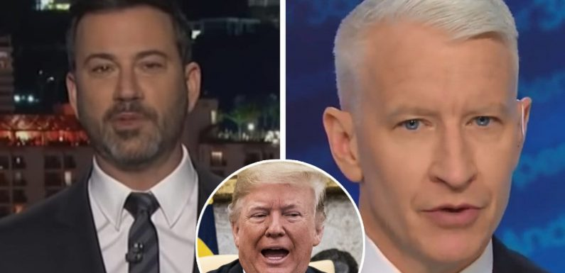 Jimmy Kimmel and Anderson Cooper Got Major 'Real Housewives' Vibes From Trump's Oval Office Meeting with Pelosi and Schumer