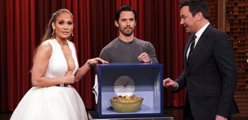Jennifer Lopez & Jimmy Fallon Play Hilarious Round of 'Can You Feel It?' on 'Tonight Show' – Watch Here!