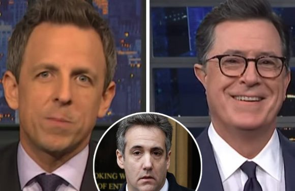 Stephen Colbert and Seth Meyers Both Have Prison Tips for Michael Cohen While Ridiculing President Trump