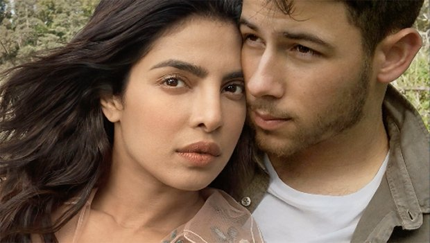 Priyanka Chopra & Nick Jonas Cuddle On New 'Vogue' Cover After Getting Married In India