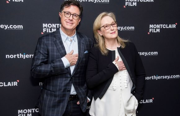 Meryl Streep and Stephen Colbert Team Up in New Jersey, Plus Cher, Chadwick Boseman & More
