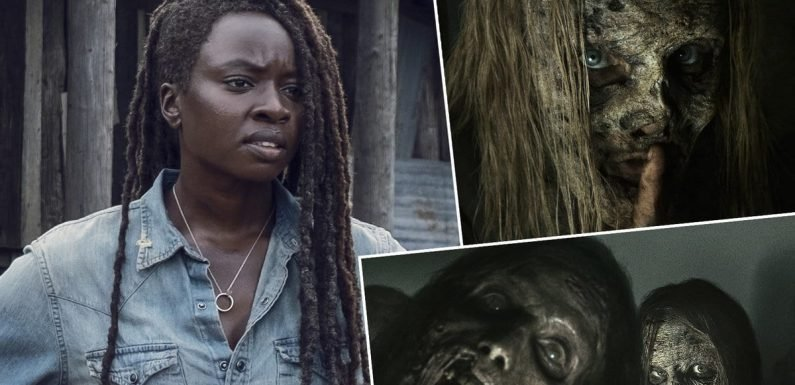 Alpha and the Whisperers Are Ready for Their Closeup In New 'Walking Dead' Photos
