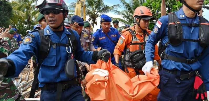 Tsunami death toll crosses 400 as officials warn of another possible wave