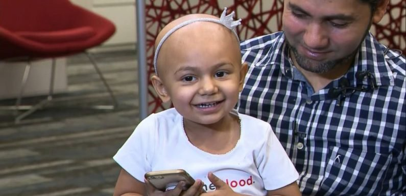 There's been a 'tremendous response' for 2-year-old in need of rare blood