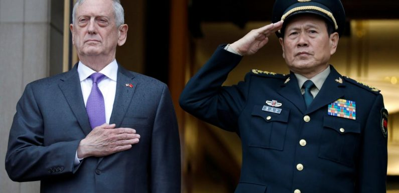 China criticizes outgoing U.S. defense secretary, but offers praise too