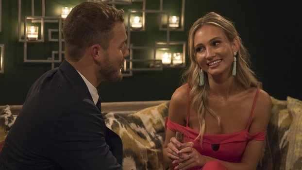This Bachelor Contestant Greeted Colton with a Fake Australian Accent and We're Obsessed