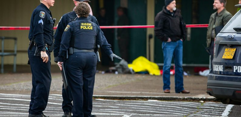 Police kill armed man at Oregon school amid custody dispute