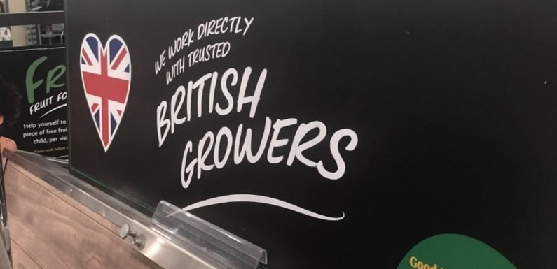 Seven top food chains shamed for selling imported veg under UK farm banners