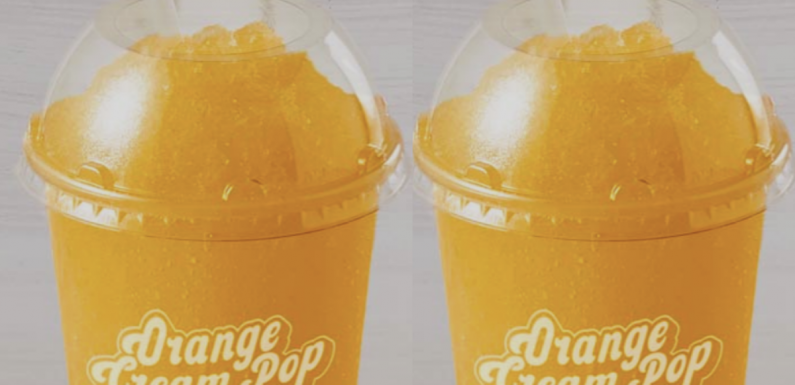 Taco Bell's Orange Cream Pop Freeze Is Back For A Sweet Afternoon Treat
