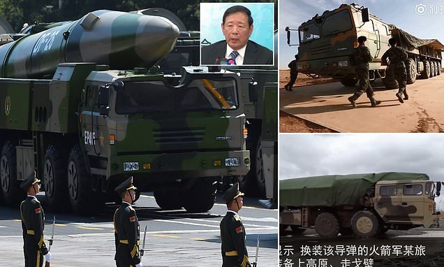 China mobilises its supersonic nuclear missile that 'could reach US'