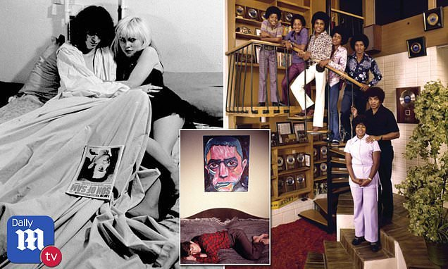 Rare look into the homes of stars Bob Dylan, Keith Richards and Cher