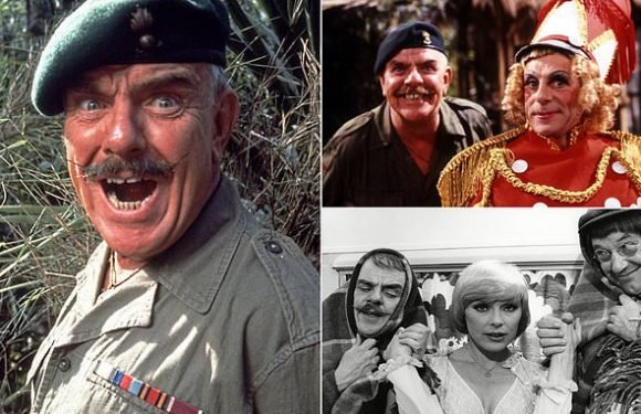 Windsor Davies was an icon from a lost age says CHRISTOPHER STEVENS