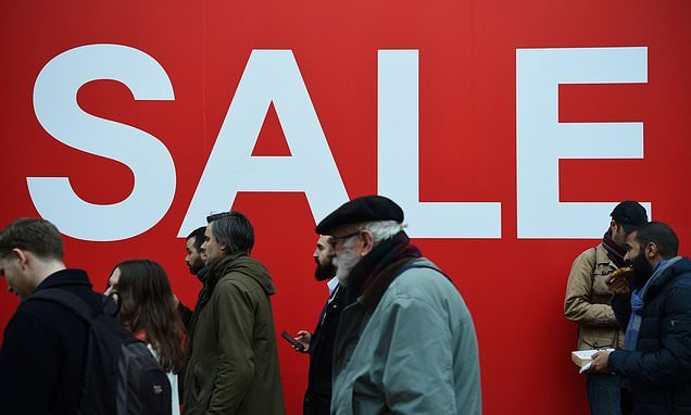 Over 175,000 retail jobs will be cut from the High Street this year