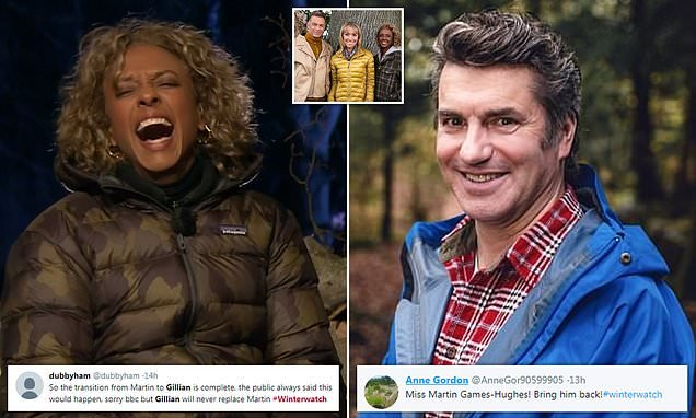 Winterwatch viewers want favourite Martin Hughes-Games reinstated