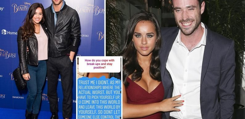 Georgia May Foote claims relationships with ex-Corrie star Sean Ward and model George Alsford were the 'actual worst'