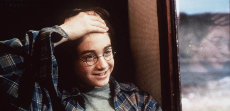 Harry Potter's scar ISN'T a lightning bolt but the 'hand motion used to cast the killing curse Avada Kedavra'