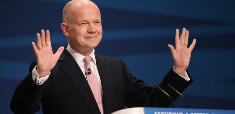 Second referendum on Brexit could happen in WEEKS, William Hague warns