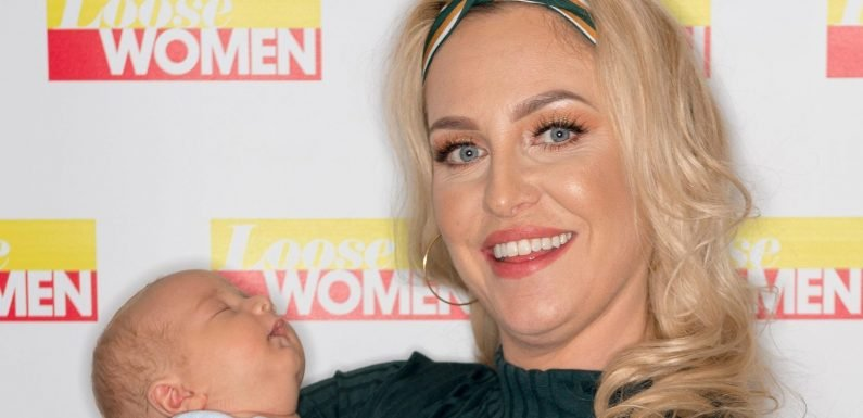 Josie Gibson splits from boyfriend Terry just four months after giving birth to son Reggie and insists there's 'no going back'