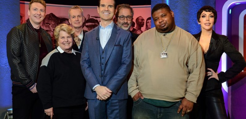 What time is The Big Fat Quiz of Everything on Channel 4 tonight and who are the guests?
