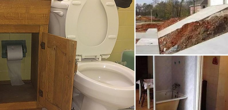 World's worst home DIY displays prove some people really should leave it to the professionals